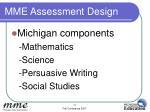 mme assessment design2