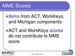 mme scores