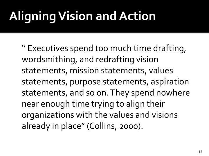 Aligning Vision and Action
