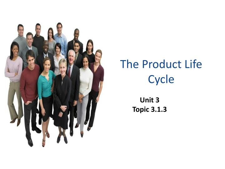 the product life cycle n.
