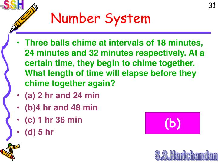Three balls chime at intervals of 18 minutes, 24 minutes and 32 minutes respectively. At a certain time, they begin to chime together. What length of time will elapse before they chime together again?