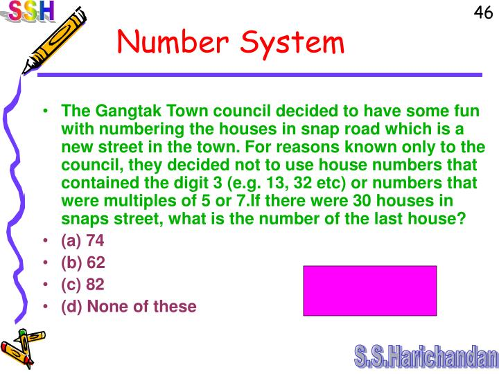 The Gangtak Town council decided to have some fun with numbering the houses in snap road which is a new street in the town. For reasons known only to the council, they decided not to use house numbers that contained the digit 3 (e.g. 13, 32 etc) or numbers that were multiples of 5 or 7.If there were 30 houses in snaps street, what is the number of the last house?