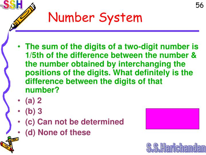 The sum of the digits of a two-digit number is 1/5th of the difference between the number & the number obtained by interchanging the positions of the digits. What definitely is the difference between the digits of that number?