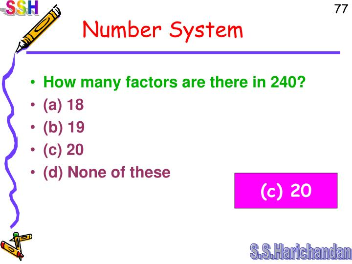 How many factors are there in 240?