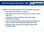 data exchange standards xml1