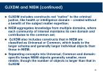 gjxdm and niem continued