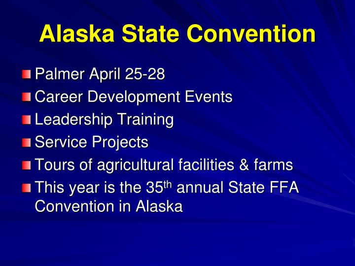 Alaska State Convention