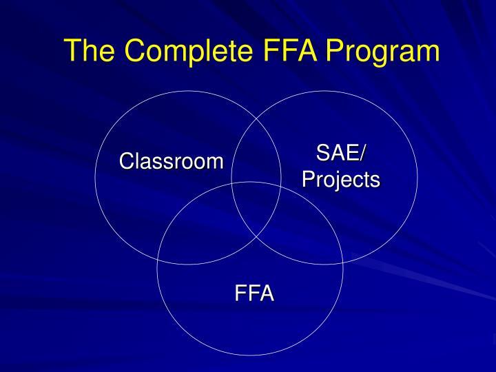 The Complete FFA Program