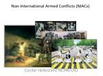 non international armed conflicts niacs