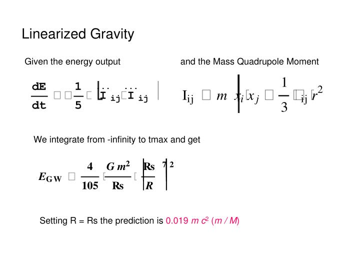 Linearized Gravity