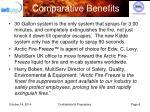 comparative benefits