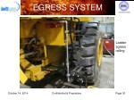 egress system5