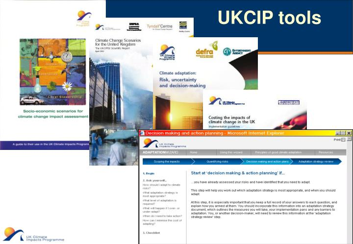 UKCIP tools