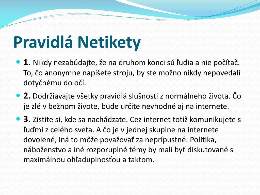pravidlá pre posielanie textových správ a online zoznamovanie sociálnych sietí absolútny datovania problémy pracovného hárka