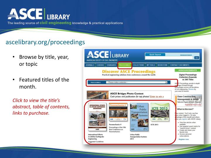 ascelibrary.org/proceedings