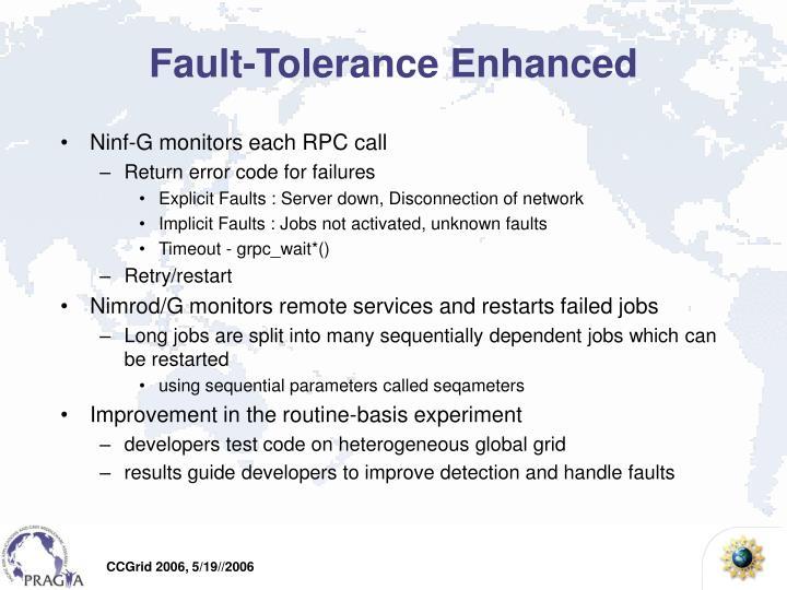 Fault-Tolerance Enhanced