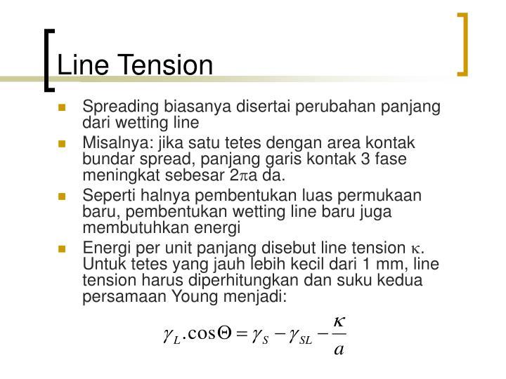 Line Tension