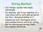 eating method