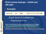 ipv6 reverse lookups aaaa and ip6 arpa1