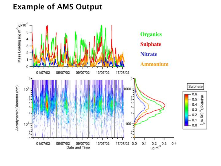 Example of AMS Output