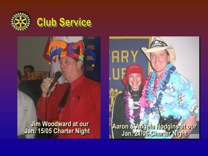 Jim Woodward at our