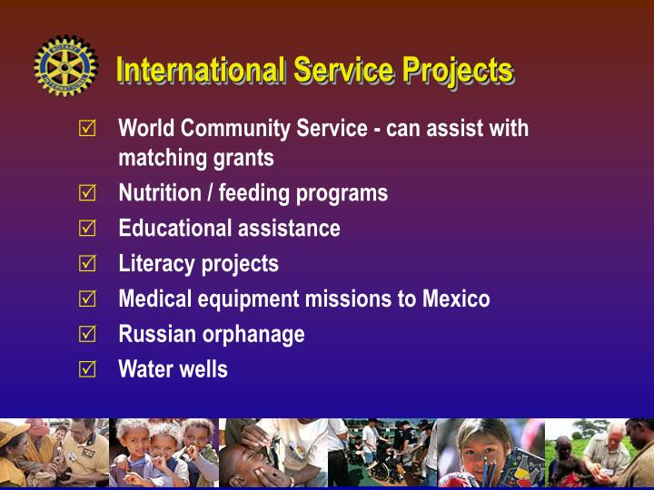 International Service Projects