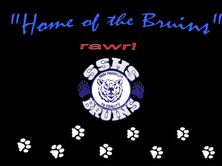 """""""Home of the Bruins"""""""