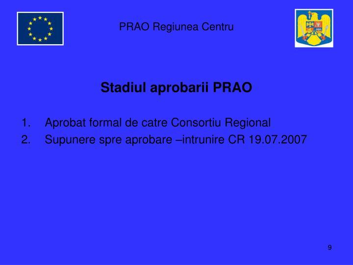 PRAO Regiunea Centru