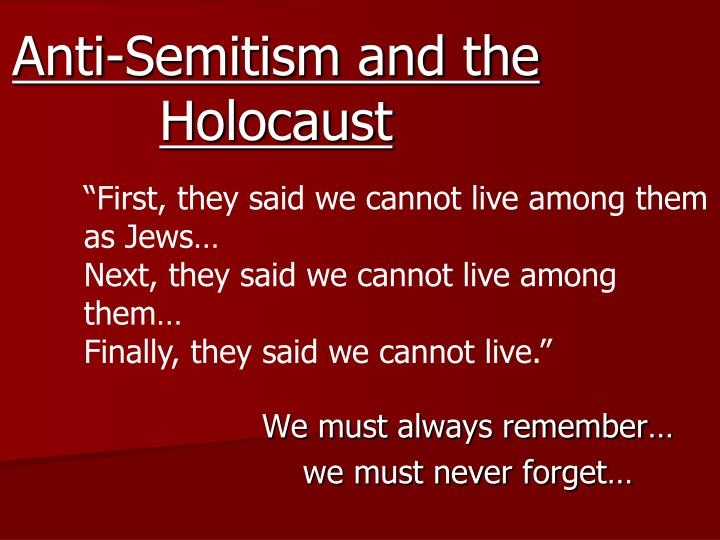 anti semitism and lack of concern among The proposition that anti-zionism is inherently anti-semitic does not mean that anti-zionists necessarily hold classically anti-semitic beliefs: anti-zionism is a variant of anti-semitism, even if it sometimes also manifests itself as a cover for a more traditional variety of anti-semitism.