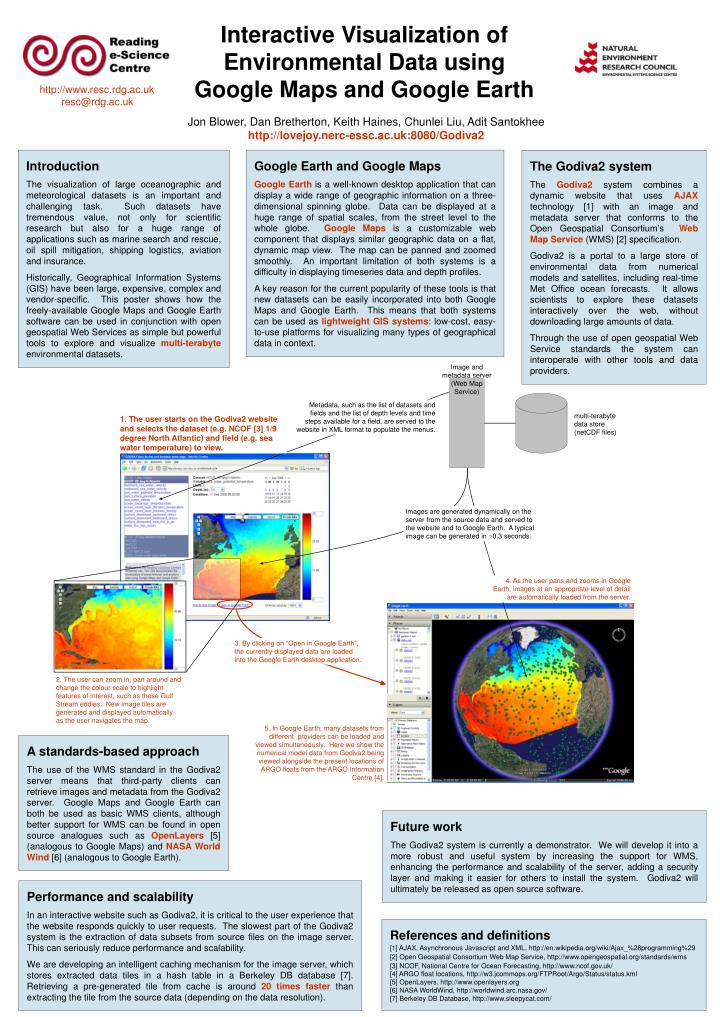 PPT - Interactive Visualization of Environmental Data using ... Show Scale On Google Maps on us map scale, google street view, simple map scale, washington map scale, google search, google earth scale, google map los angeles, google mining claims map,