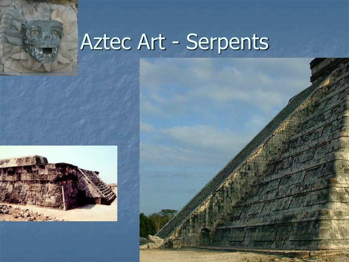 Aztec Art - Serpents
