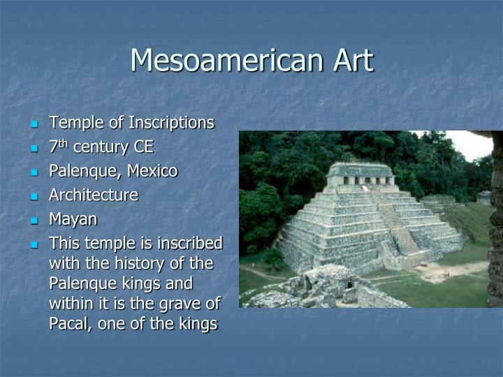 Mesoamerican Art