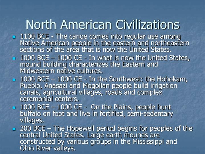 North American Civilizations