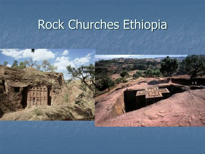 Rock Churches Ethiopia