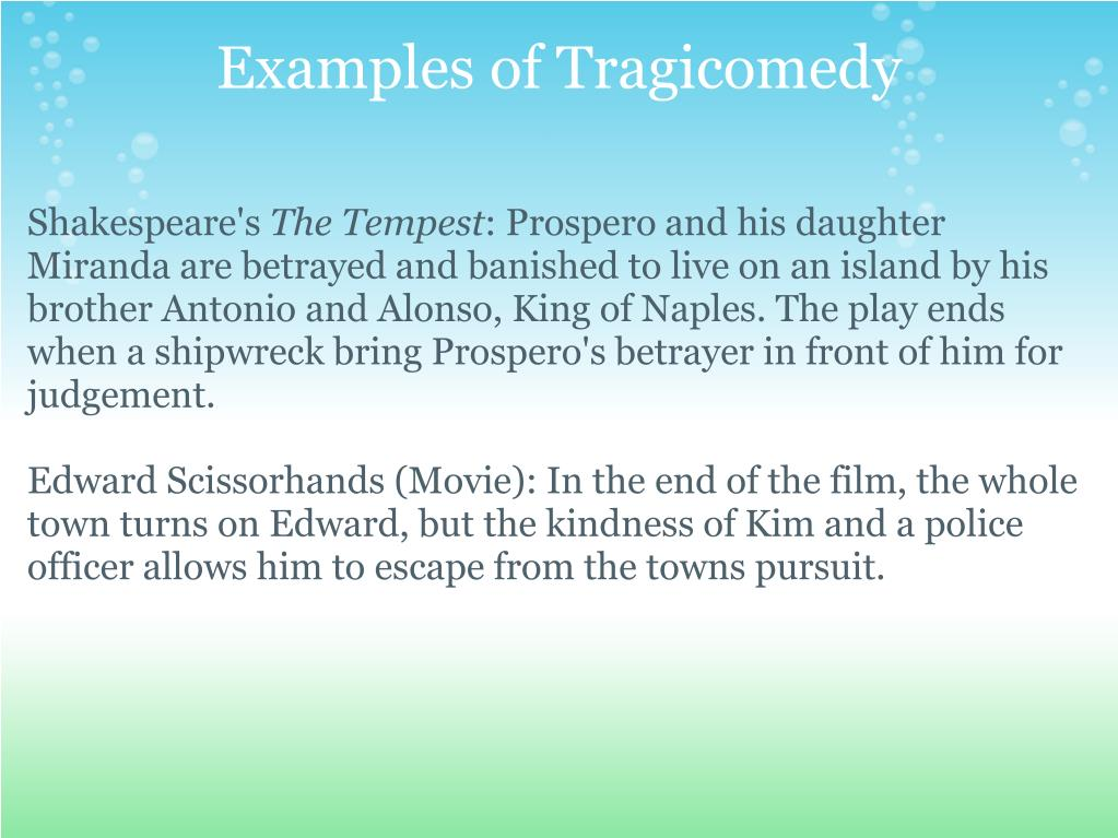 The first law of tragicomedy & dramedy | writing humor, comedy.