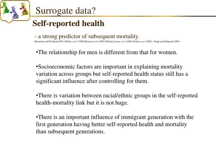 Surrogate data?
