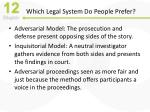 which legal system do people prefer
