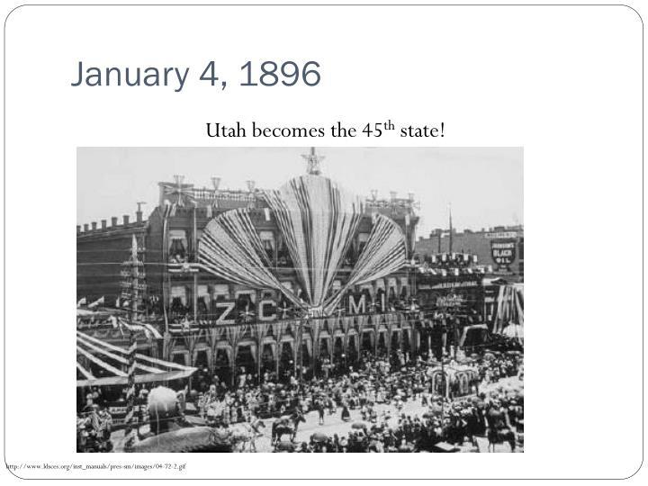 January 4, 1896