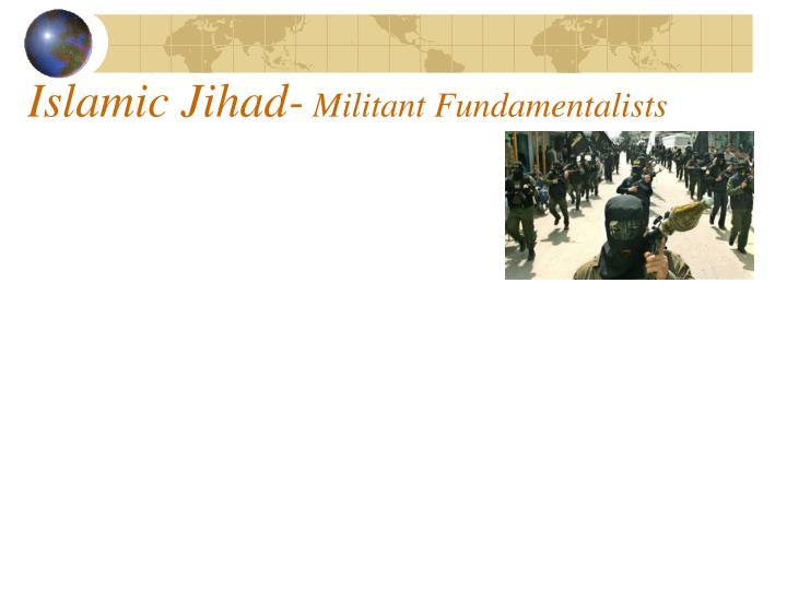 Islamic Jihad-