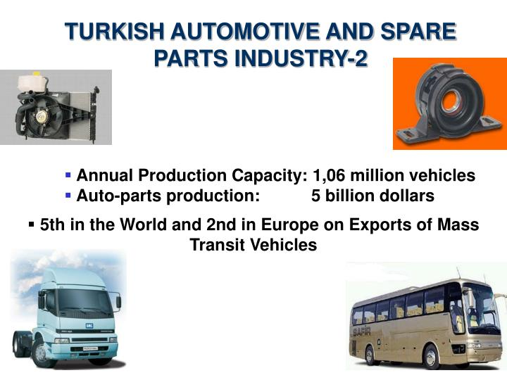 TURKISH AUTOMOTIVE AND SPARE PARTS INDUSTRY-2