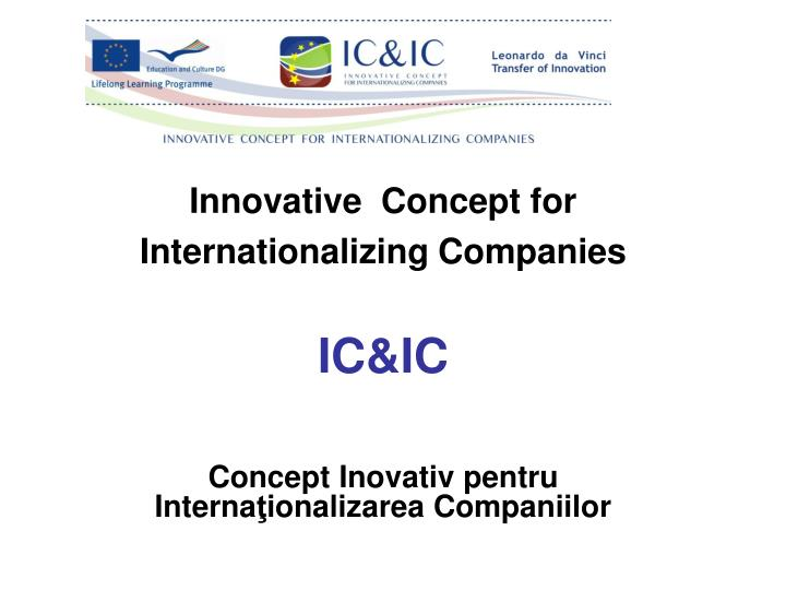 internationalizarea firmei Proiect internationalizarea companiei farmec pentru facultate politica promotionala - componenta fundamentala a politicii de marketing a firmei moderne.