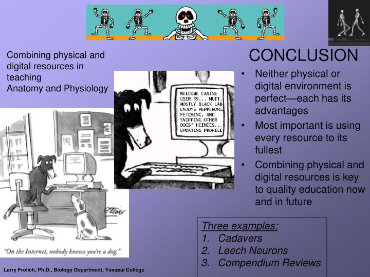 Combining physical and digital resources in teaching