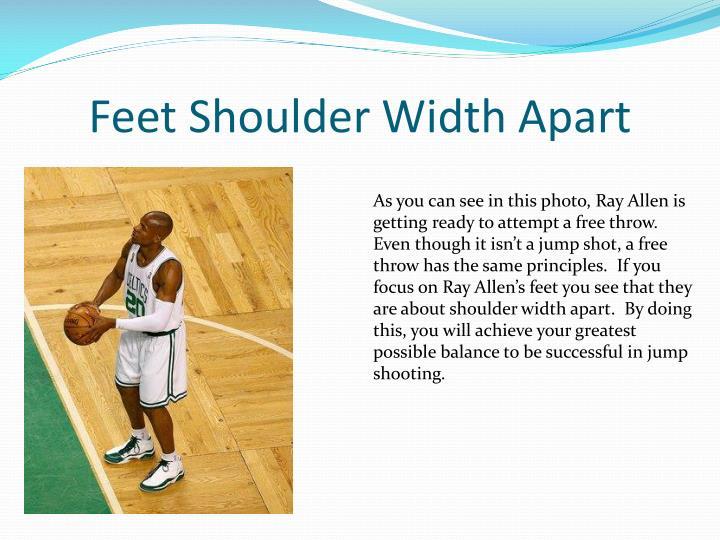 Feet Shoulder Width Apart