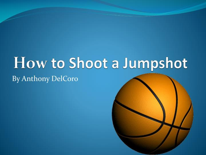 How to shoot a jumpshot