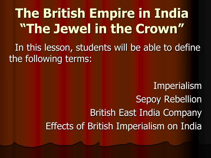 british empire essay If you've been assigned a paper about the empire ruled by the united kingdom, be sure to take a look at our template herein feel free to use it.