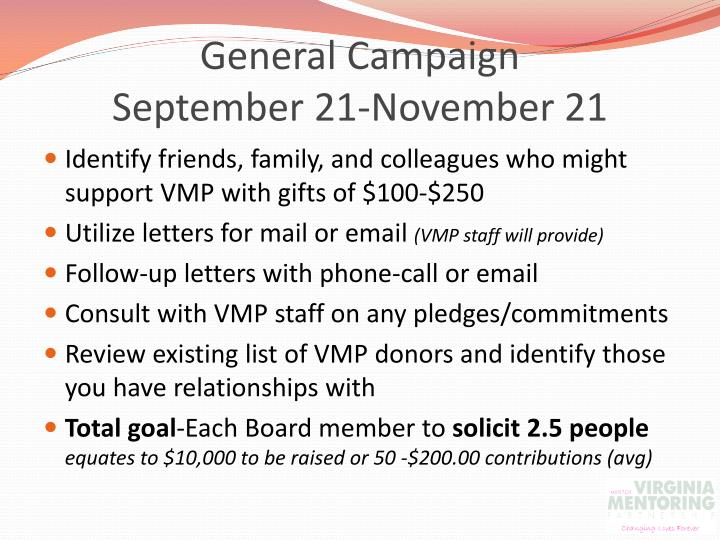 General Campaign