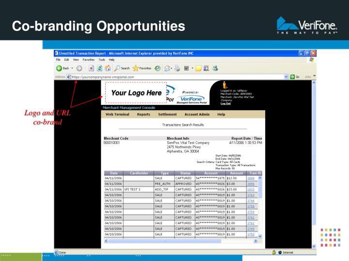 Co-branding Opportunities