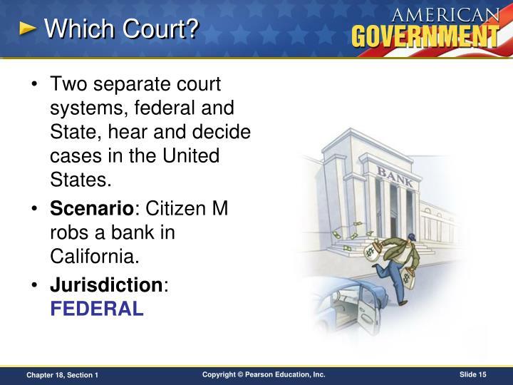 Which Court?