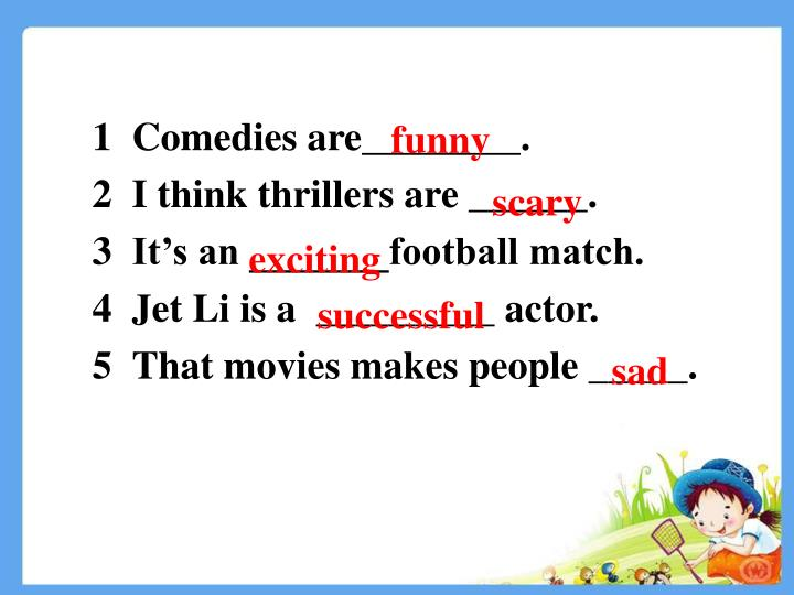 Comedies are________.