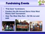 fundraising events